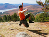 Photo of Matt McDonald slacklining