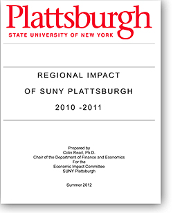Cover of 2010-2011 Economic Impact Study