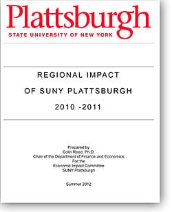 Cover of 2010-2011 Economic Impact Study