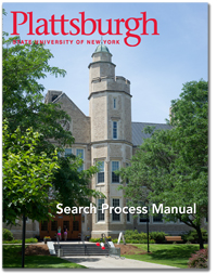 Click on this image to download PDF copy of the SUNY Plattsburgh Search Process manual