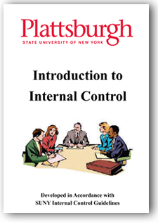 Click on this image to download a PDF copy of the Internal Control Program brochure for SUNY Plattsburgh Faculty and Staff