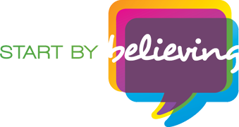 Start by Believing Logo