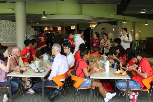 international students luncheon