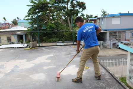 diego with broom