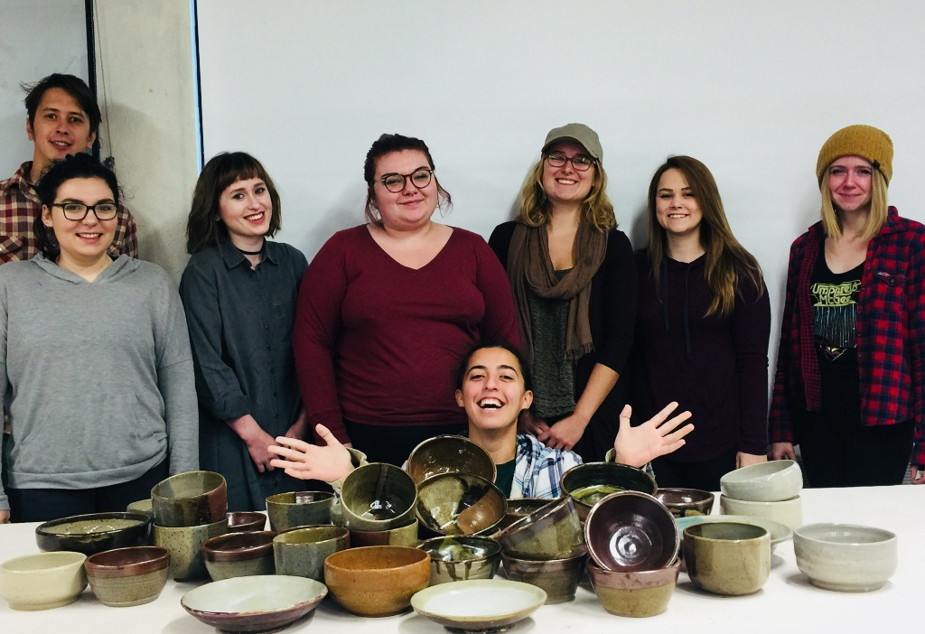 2017 empty bowls students