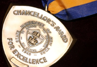 Three Set to Receive Chancellor's Awards for Student Excellence