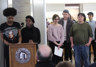 Student Research on Display in 'And Still We Rise' Exhibit