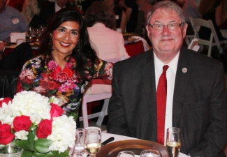 President Ettling, Lisa Lewis Feted at Gala Event