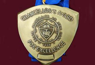 SUNY Chancellor Awards Four for Excellence