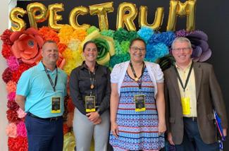 Staff Attends Conference Devoted to Violence Prevention in LGBTQ+ Community