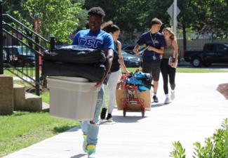 Move-in Weekend Sets Stage for New Semester, Class of 2023