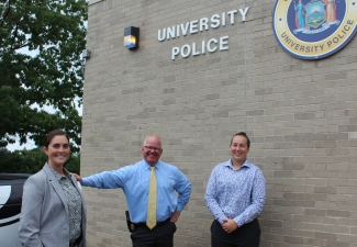 University Police Internship Gives Undergrad Real-Life Experience on the Job