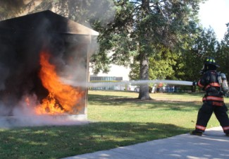 Greater Awareness, Emergency Preparedness Goal of Campus Fire Safety Events