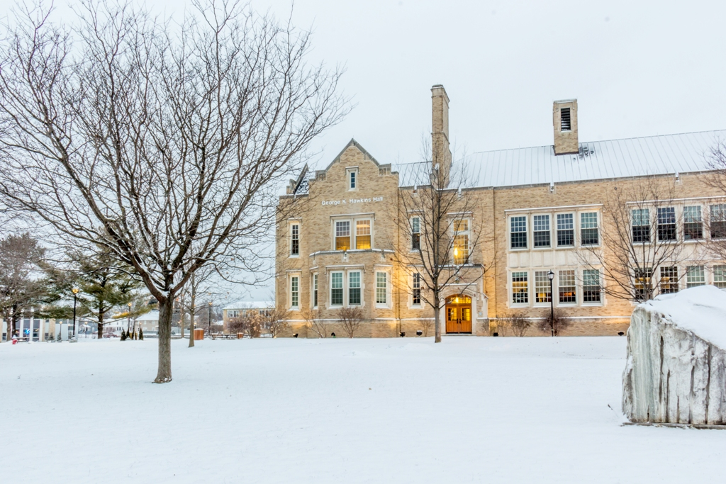 hawkins hall winter