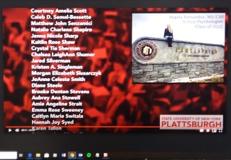 Graduates Saluted During Virtual Celebration
