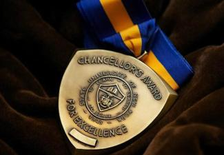 Two Receive Chancellor's Award for Student Excellence